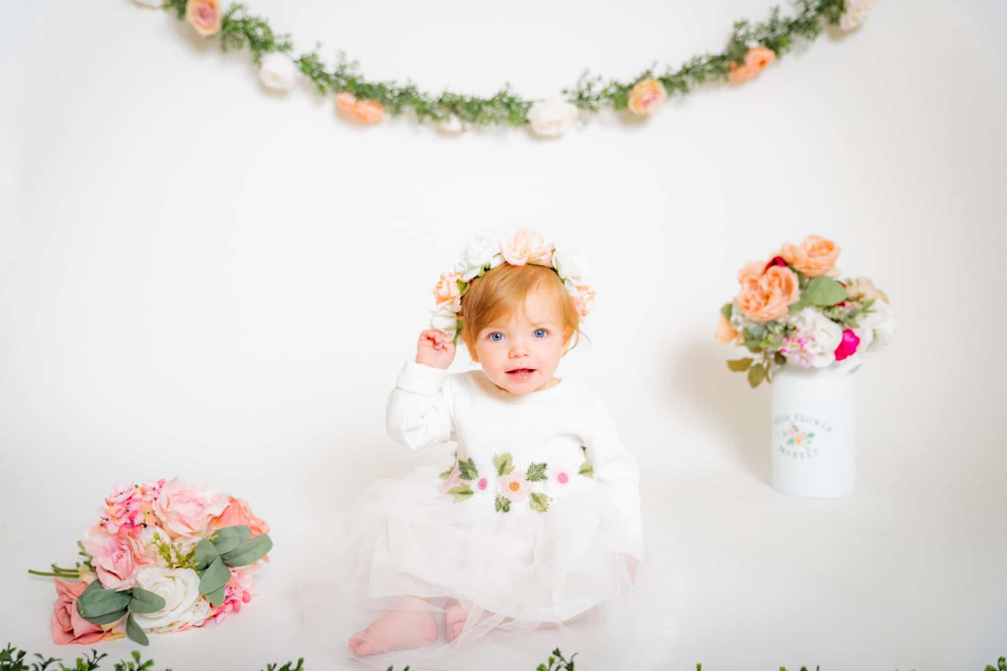 floral-first-birthday-vintage
