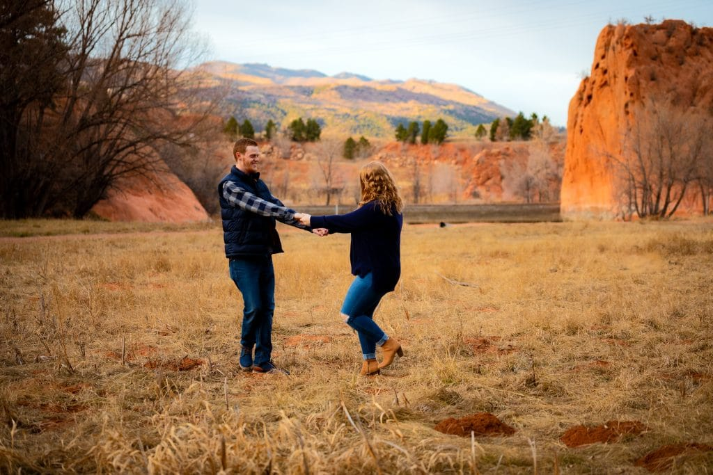 prepare for your engagement portrait session by having fun and being ready for it!