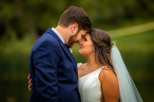bride-groom-sharing-intimate-moment