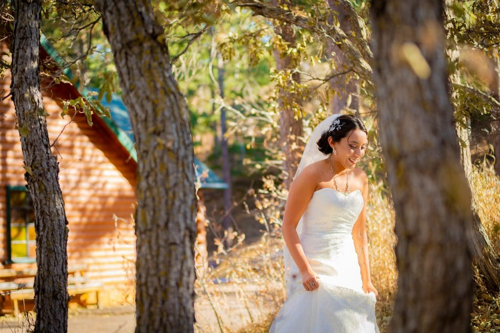 bride-walking-to-first-look