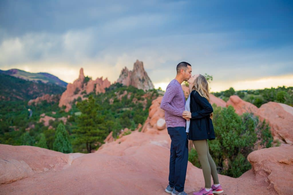 garden of the gods she said yes