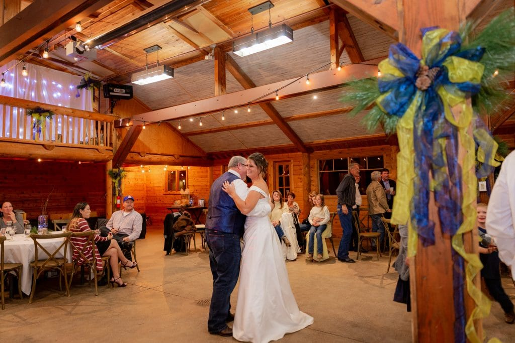 Dancing with Dad wedding photograph