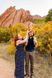 Capturing the magic of families during our fall mini sessions in Colorado.