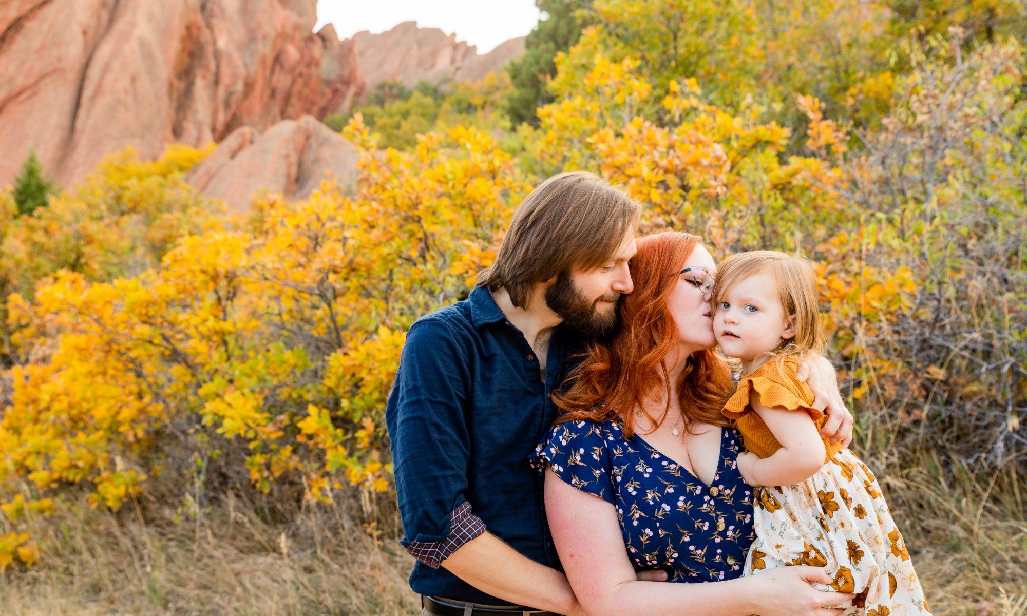 Fall mini family portrait