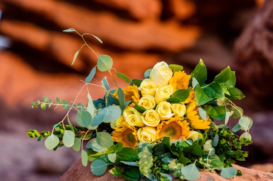 DIY wedding florals