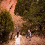 an intimate elopement in Garden of the Gods Colorado