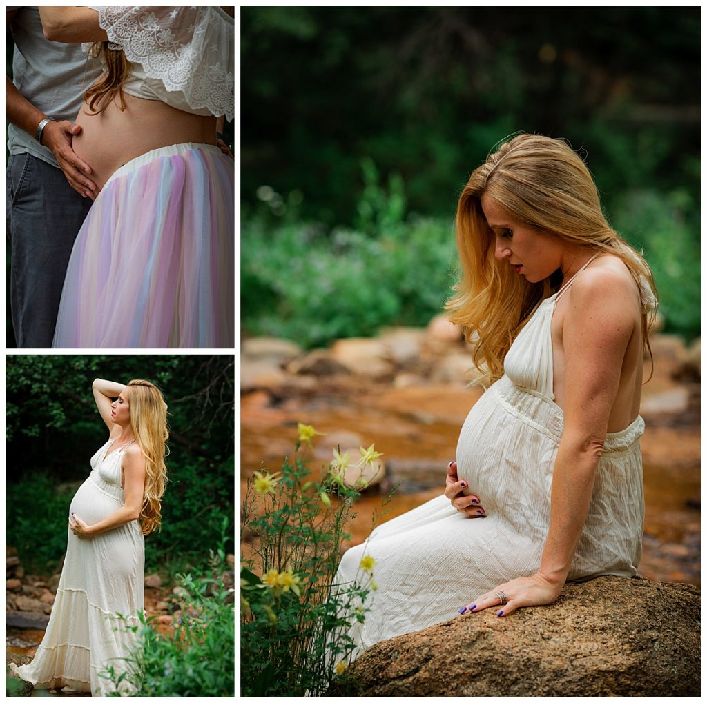 39 week surprise maternity session