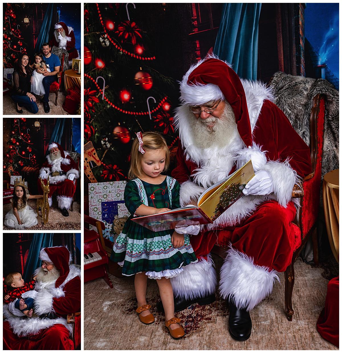 Santa Minis in Colorado Springs Photo Studio